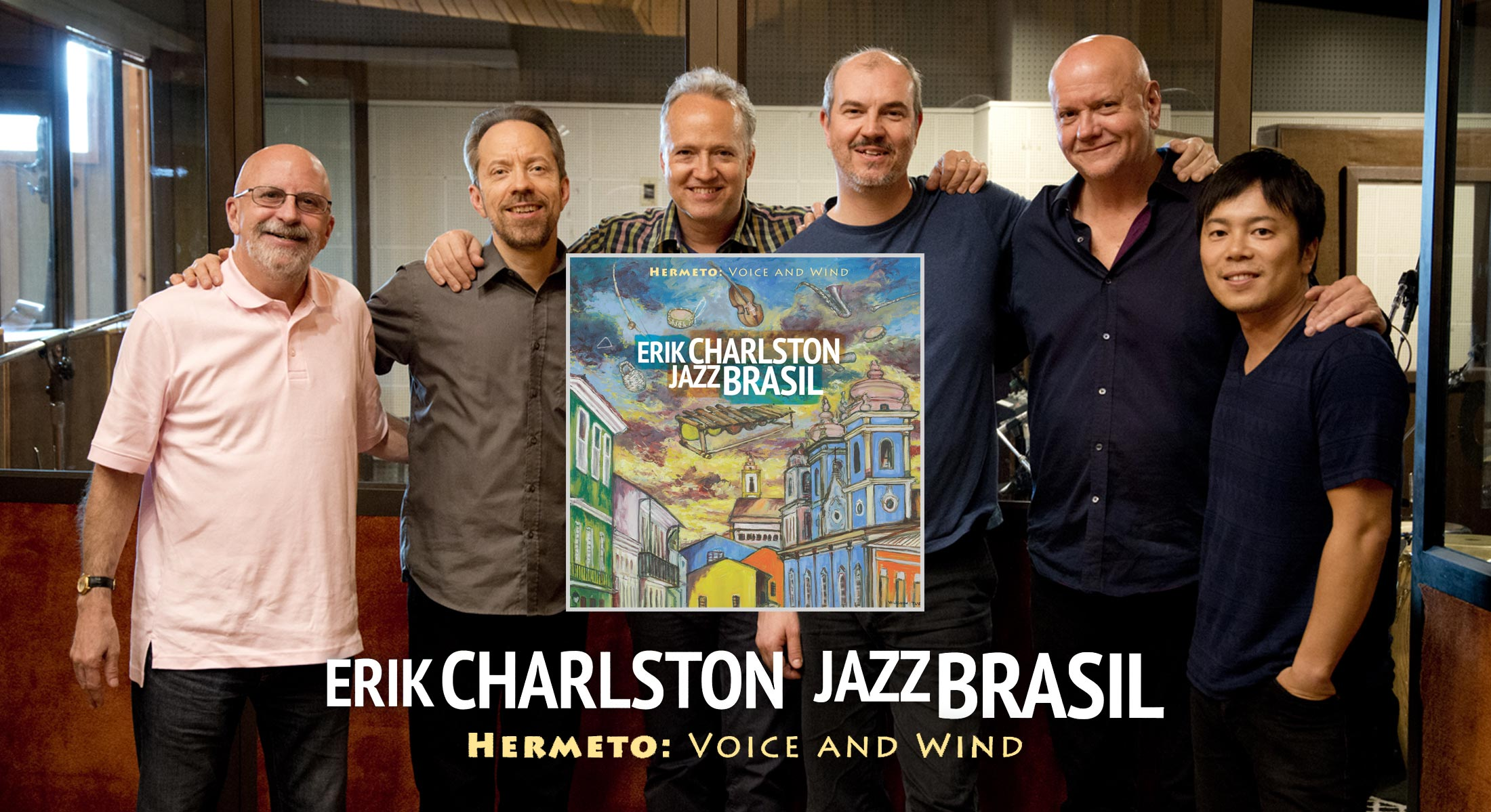 Erik Charlston - JazzBrasil - Voice And Wind